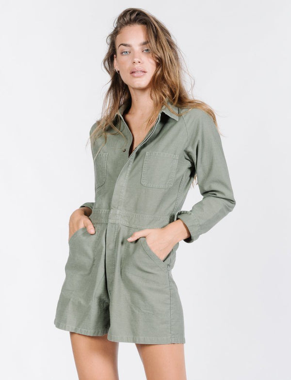 Deploy Tab Romper - Jungle Army