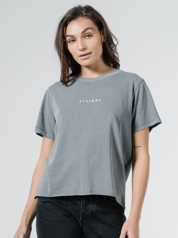 Minimal Thrills Relaxed Tee - Washed Grey