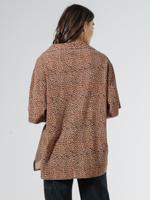 Panthera Slouch Shirt - Mustang Brown