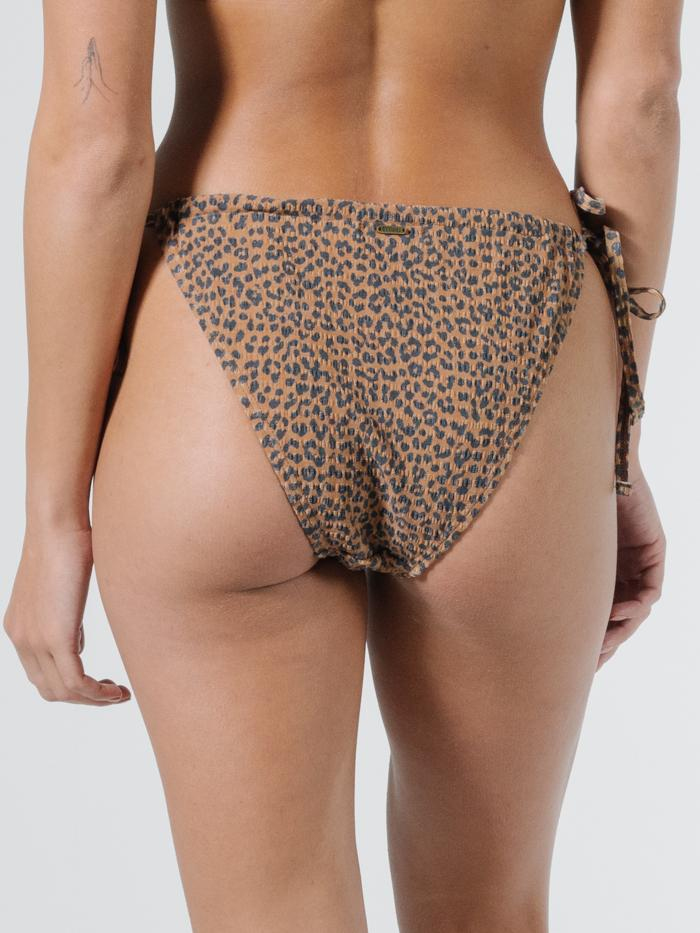 Panthera String Bikini Pant - Mustang Brown
