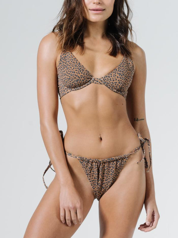 Panthera Underwire Bikini Top - Mustang Brown