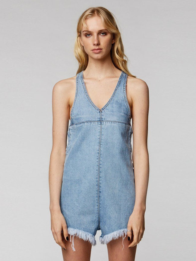 Coyote Overall  - Reckless Blue