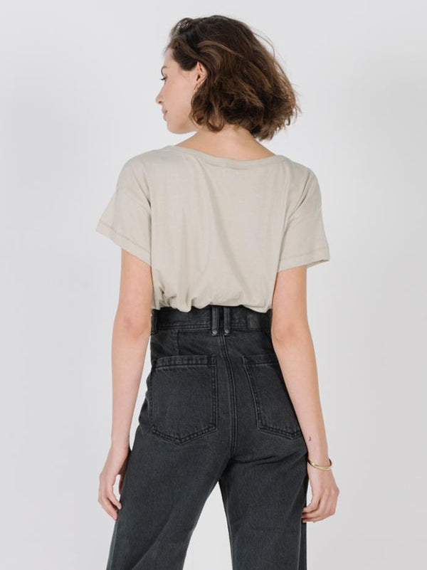 Thrills Stacked Boyfriend Tee - Alfalfa