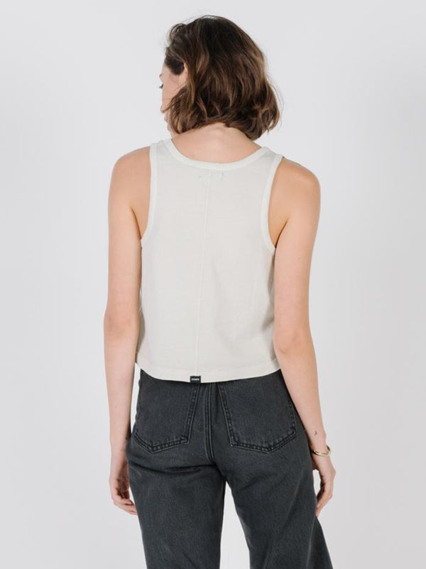 Minimal Thrills Scoop Tank - Peyote