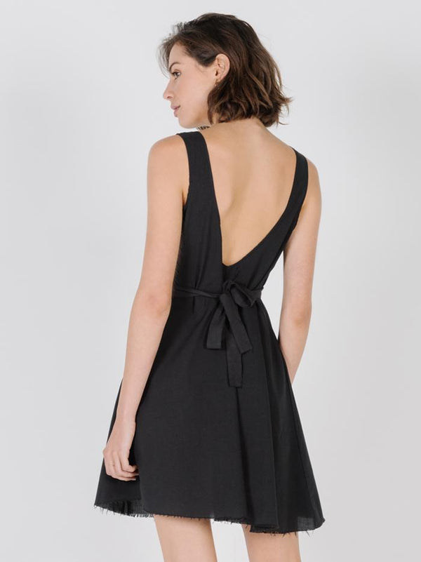 Milla Dress - Faded Black