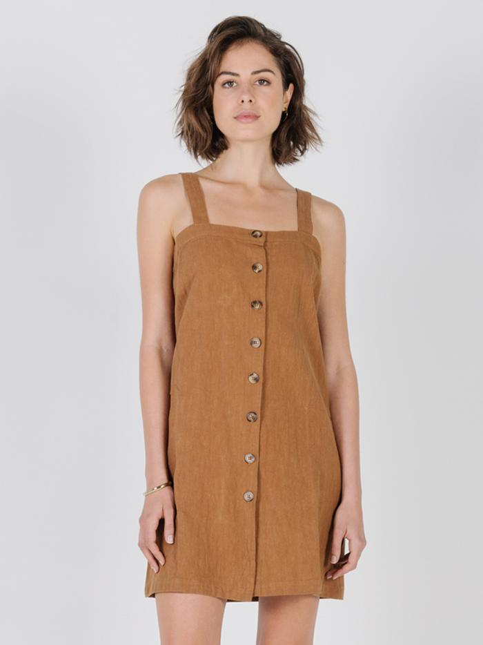 Casey Dress - Bronze