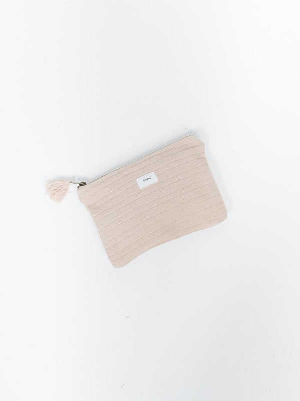 Terry Clutch - Almond