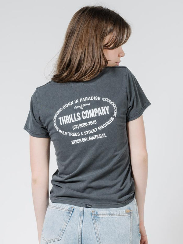 Thrills Garage Band Tee - Merch Black