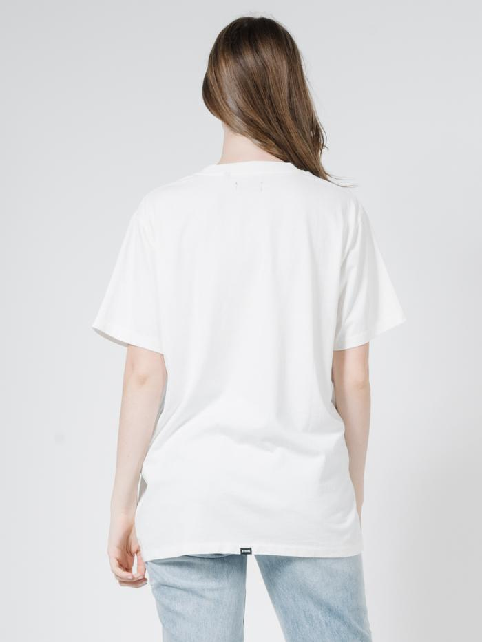 Traction Merch Tee - Dirty White
