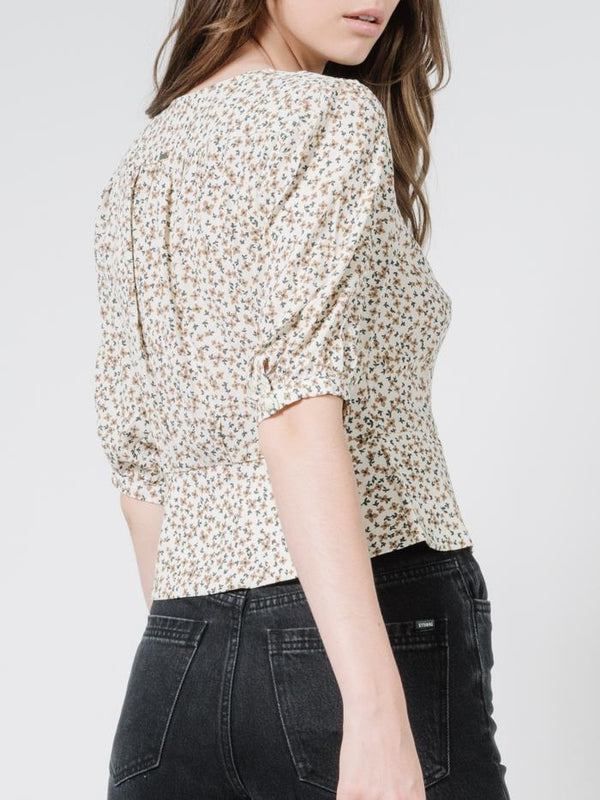 Acacia Blouse - Thrift White