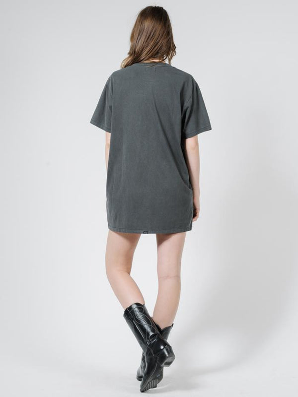 Bad Luck Merch Tee Dress - Merch Black