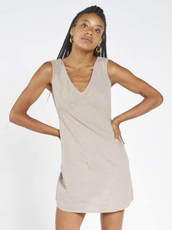 Gemma Dress - Army Fade