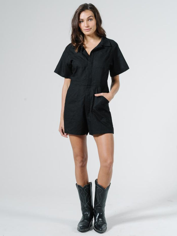 Duties Romper - Black