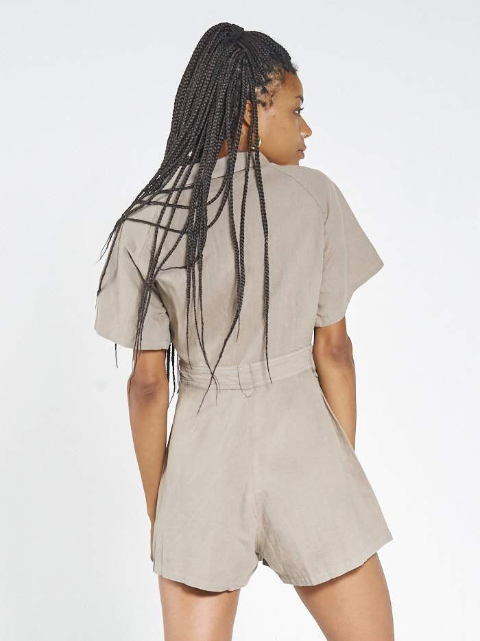 Duties Romper - Army Fade