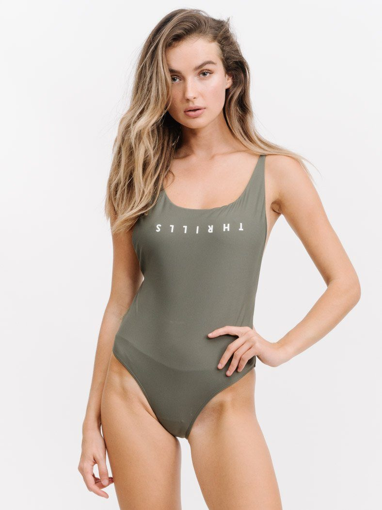 Thrills Classic One Piece - Faded Army