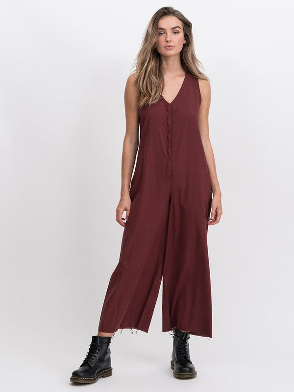 Laurel Jumpsuit - Blood Red