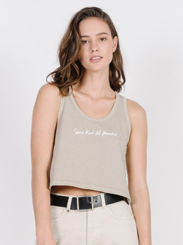 Traveller Scoop Tank - Peyote