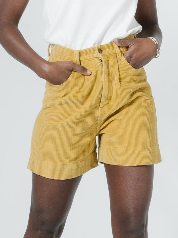 Natalie Cord Short - Sunlight Yellow