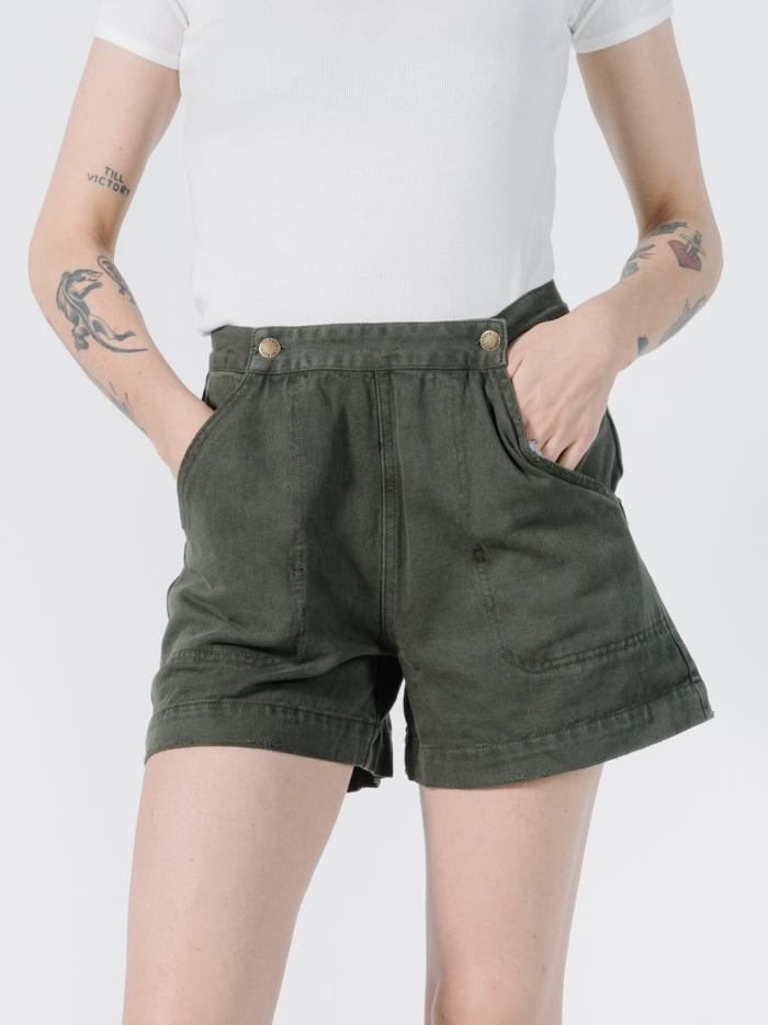 Sailor Military Short - Army Green