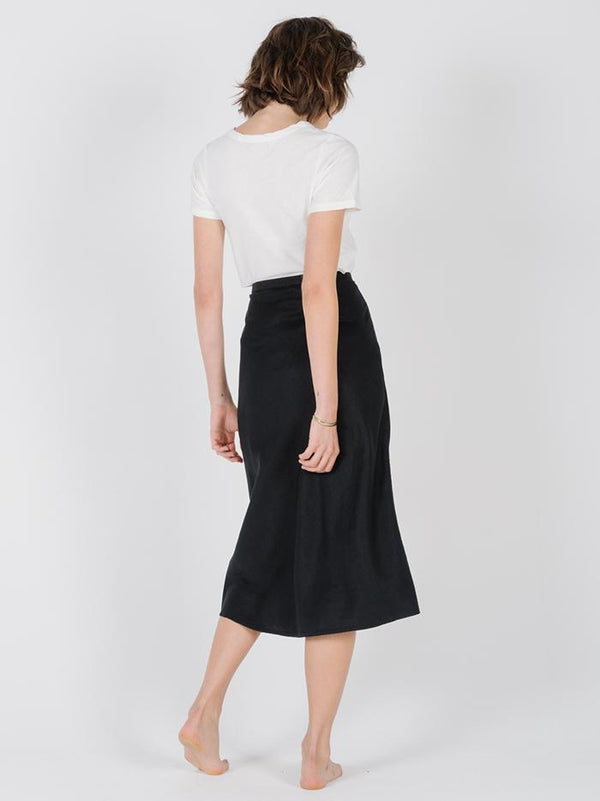 Primal Hemp Skirt - Faded Black
