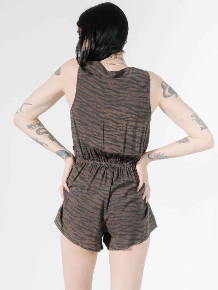 Moonlight Playsuit - Dark Brown