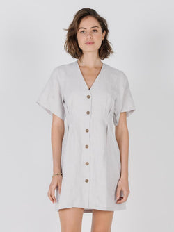 Chrissy Dress - Dirty White