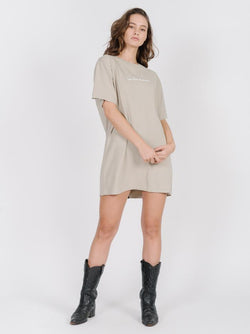 Traveller Merch Fit Tee Dress - Peyote