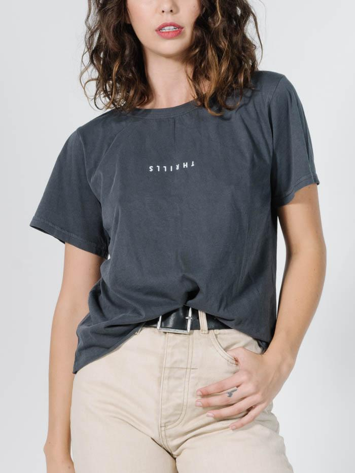 Minimal Thrills Loose Fit Tee - Ebony