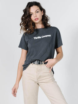 Company Pinline Relaxed Tee - Merch Black