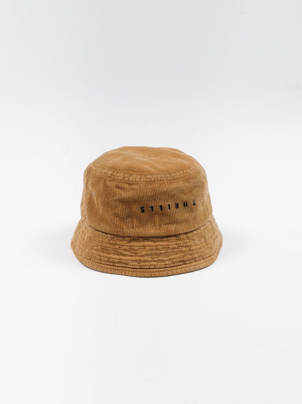 Minimal Thrills Bucket Hat - Golden Brown