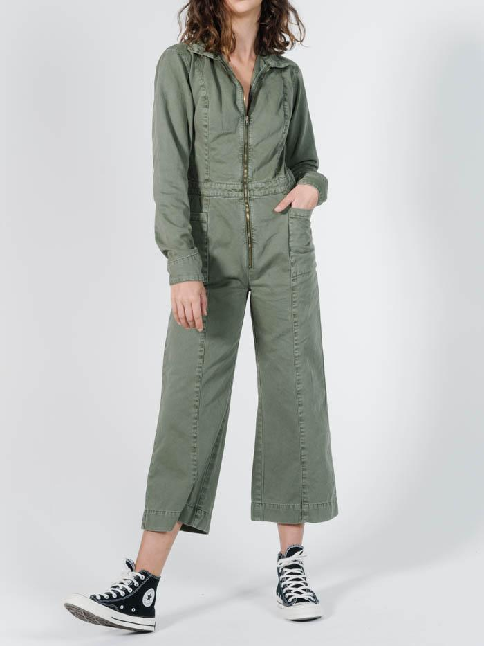 Painter LS Coverall - Dune Green