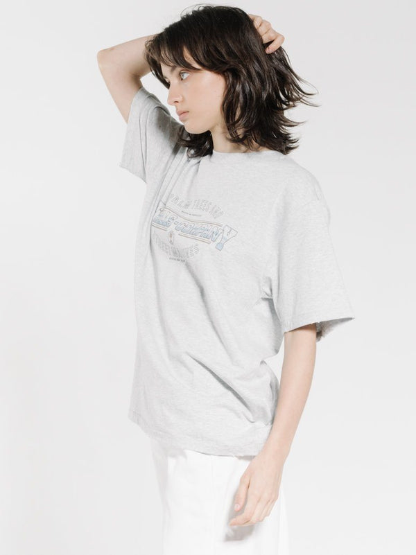 Diversion Merch Fit Tee - Snow Marle