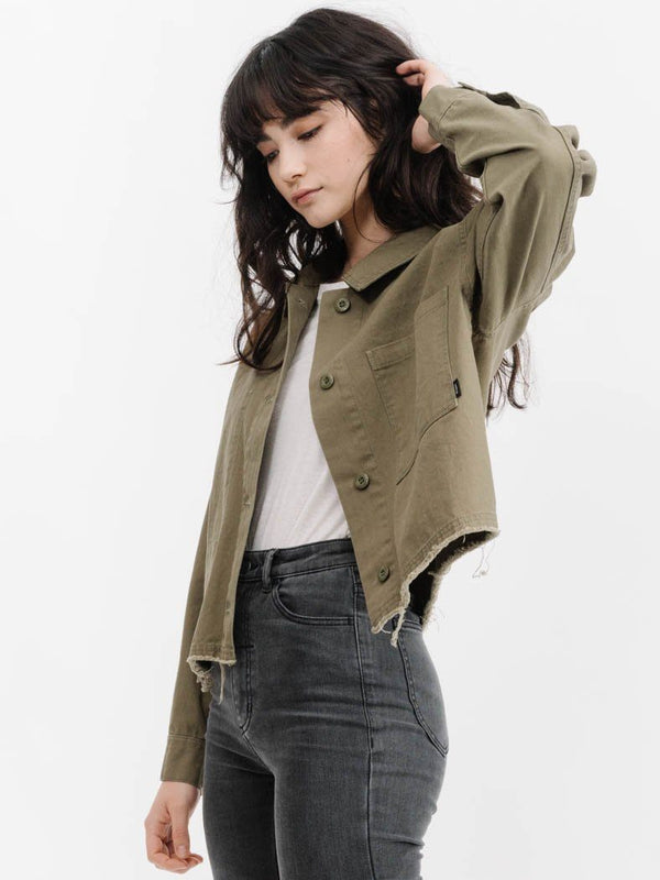 Troop Jacket - Army Green