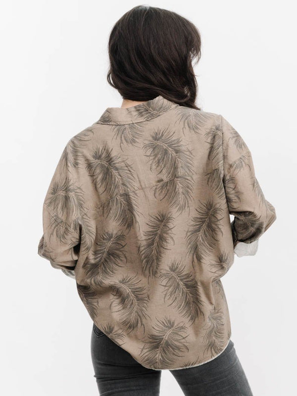 Winter Palm Shirt - Winter Palm