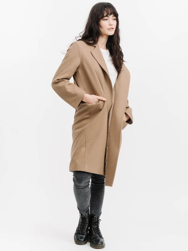 Elaine Jacket  - Tan