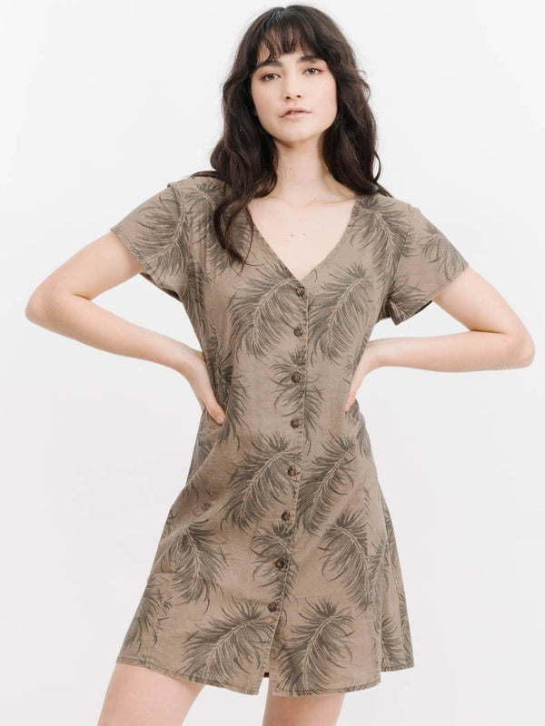 Winter Palm Dress - Winter Palm
