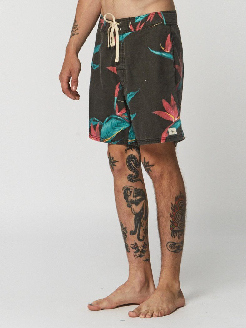 Bird Of Darkness Boardshort - Yardage - Thrills Co