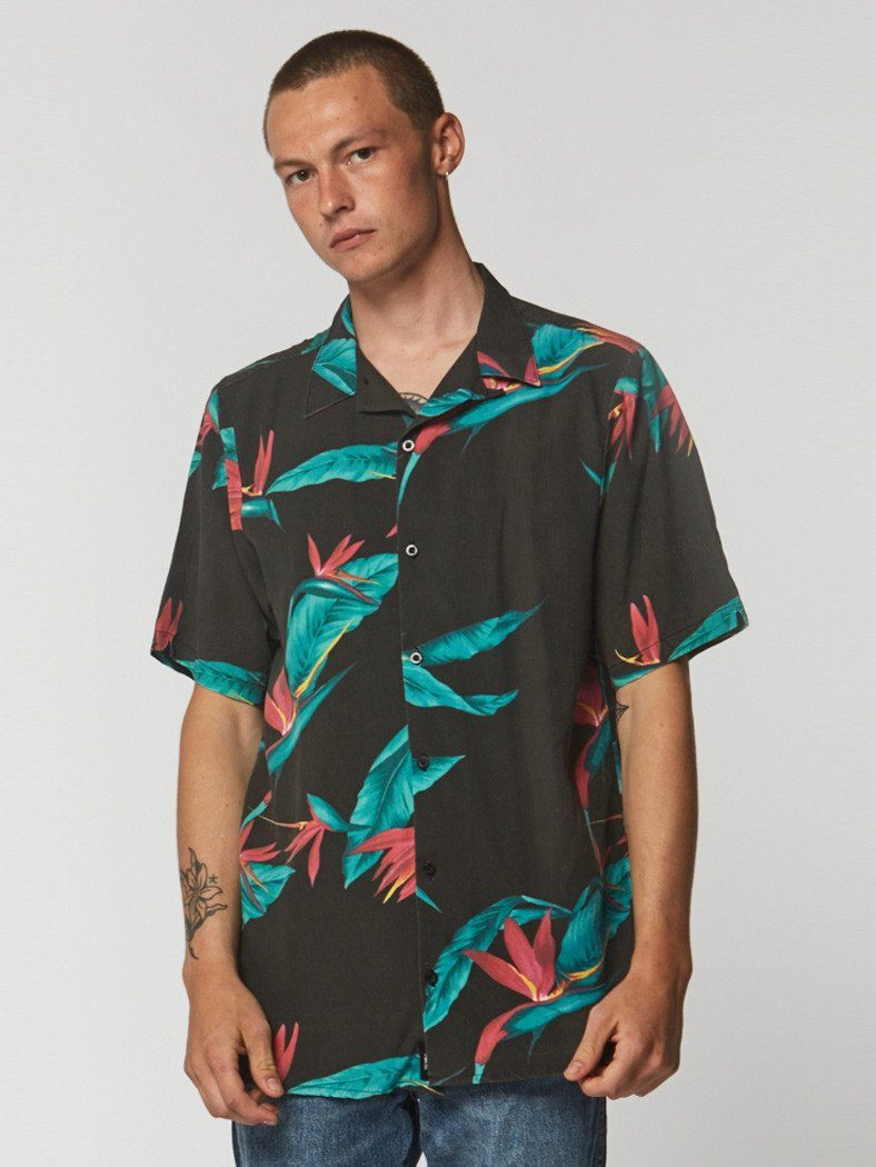 Bird Of Darkness Shirt - Yardage - Thrills Co