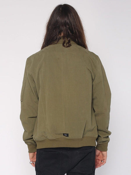 Bomber Jacket - Army Green - THRILLS CO - 3