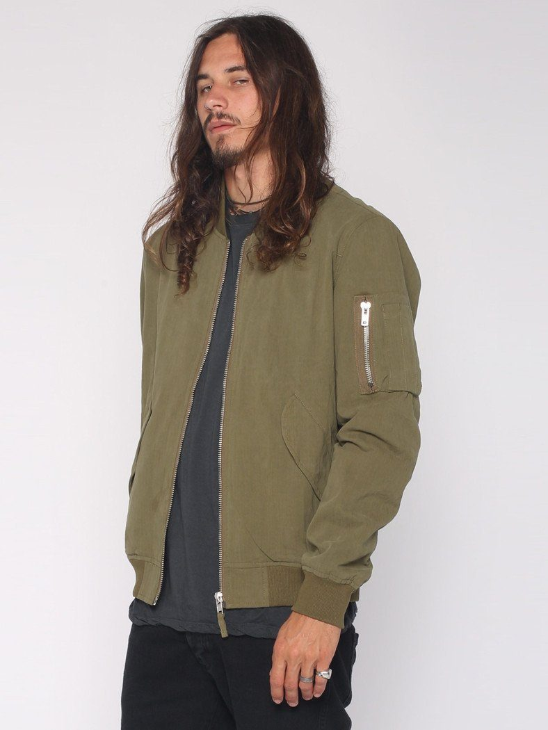 Bomber Jacket - Army Green - THRILLS CO - 2
