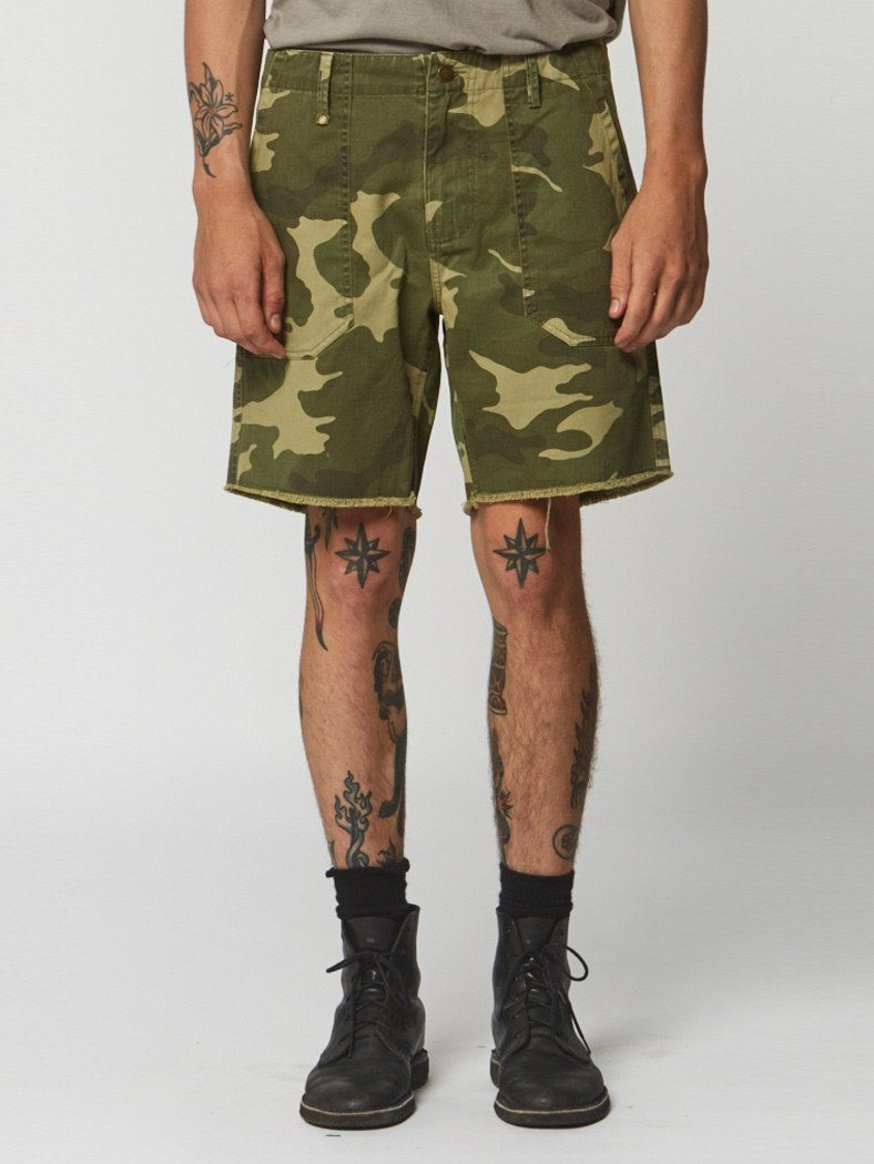 Camo Short - Yardage - Thrills Co