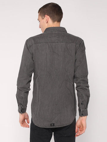 Canyon Shirt - Faded Grey - THRILLS CO - 3