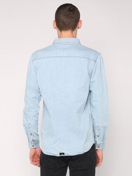 Canyon Shirt - Light Wash Blue - THRILLS CO - 3