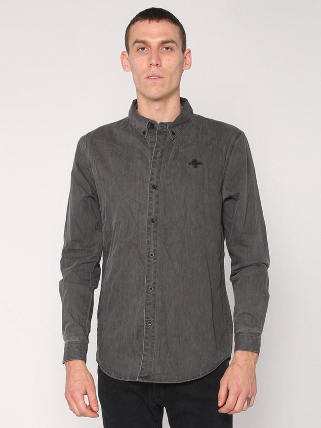 Canyon Shirt - Faded Grey - THRILLS CO - 1