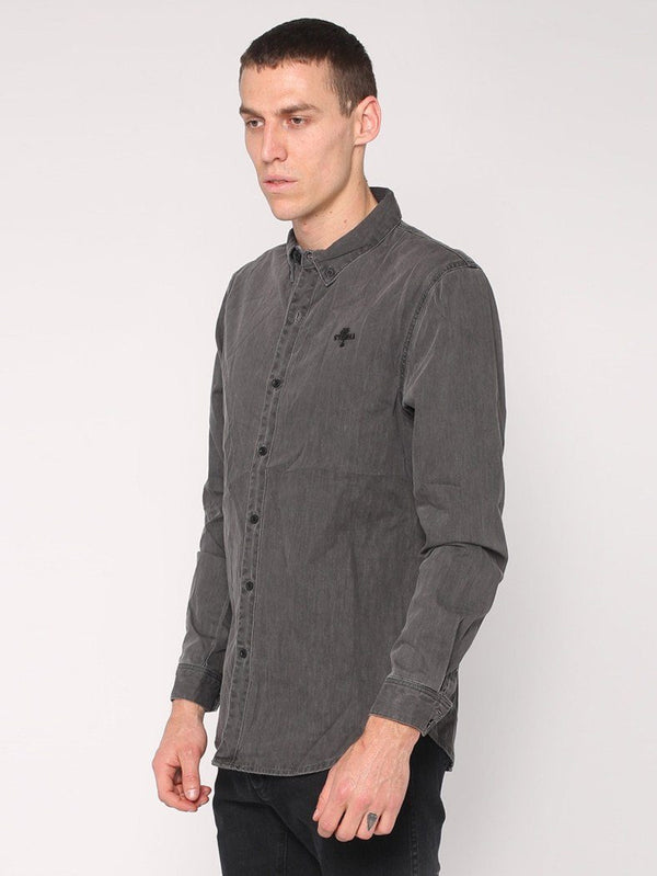 Canyon Shirt - Faded Grey - THRILLS CO - 2