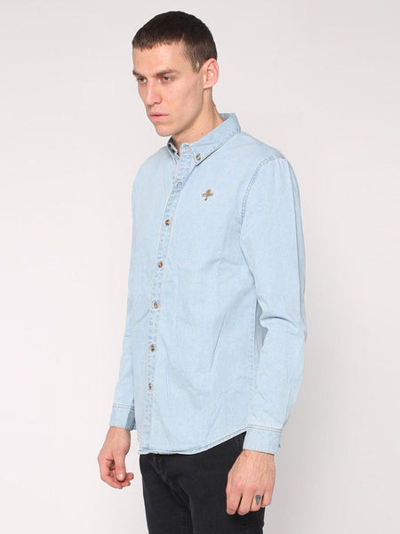 Canyon Shirt - Light Wash Blue - THRILLS CO - 2