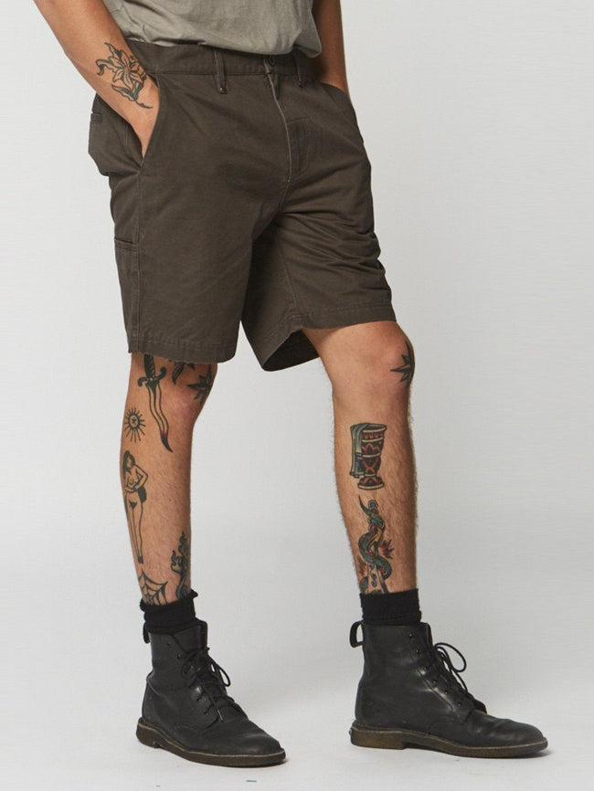 Chopped Chino Short - Clay - Thrills Co