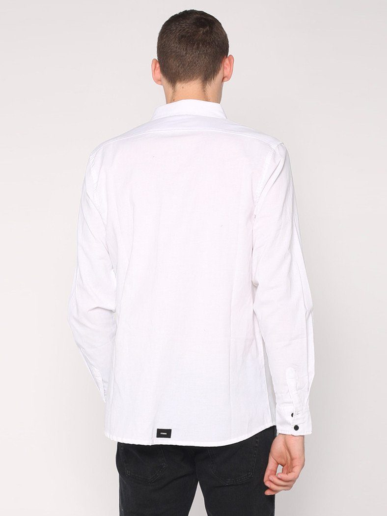 Basic Long Sleeve Shirt - White - THRILLS CO - 3