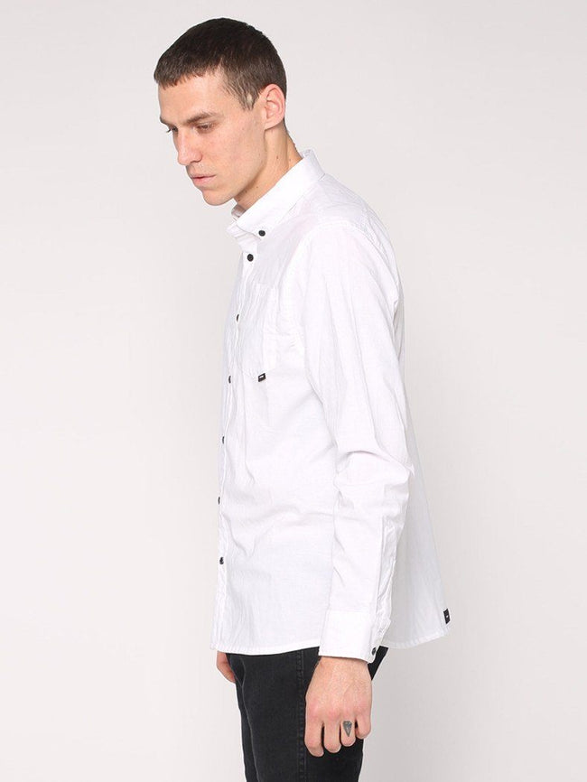Basic Long Sleeve Shirt - White - THRILLS CO - 2