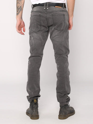Destroyed Bones Jeans  - Faded Grey - THRILLS CO - 3